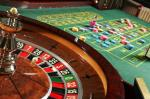 roulette wheel chips casino table
